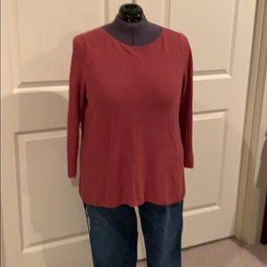 Eileen Fisher light-weight long sleeve sweater 2X